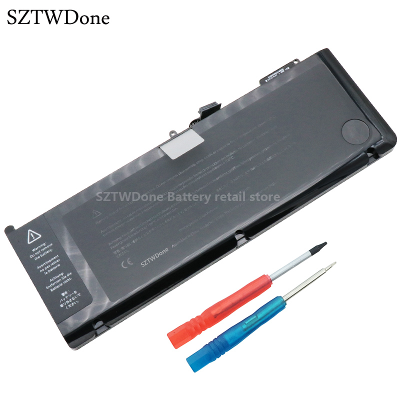 SZTWDone A1382 Laptop Battery for APPLE MacBook Pro 15 Inch A1286 2011 MC723 MC721 MC721LL/A MC723LL/A MD103 MD104 MD318 MD322 new laptop battery for apple macbook pro a1382 a1286 only for core i7 early 2011 late 2011 mid 2012 15 i7 661 5476 661 5211