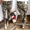 Calças Doces Lápis Calças 2016 Primavera Outono das mulheres Calças Stretch Para As Mulheres Senhoras Finas Calças Jeans Feminino