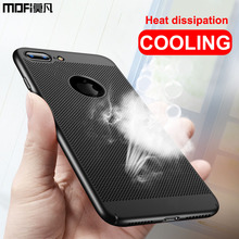 case for iPhone 7 case cover radiate heat cooling coque ultra thin mofi back protective capas coque for iPhone 6 7 Plus case