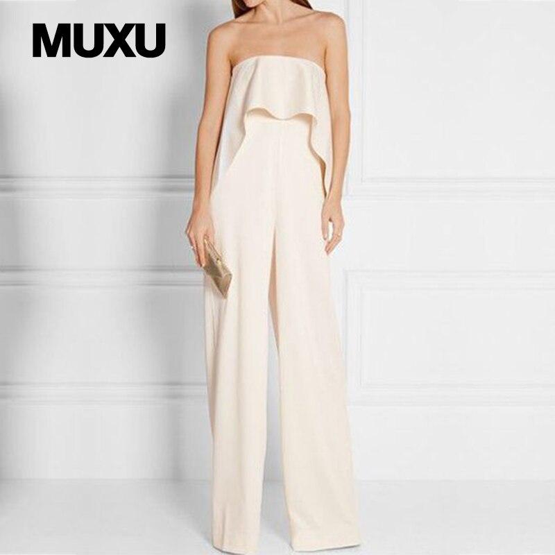 MUXU комбинезон пикантные женские комбинезоны для женщин Европа и Соединенные Штаты комб ...