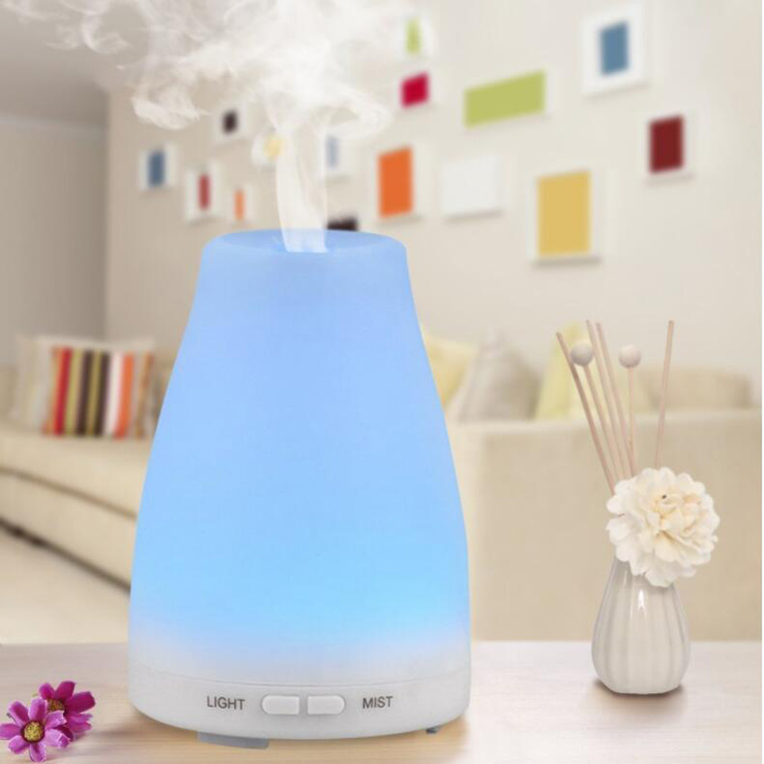Air Humidifier Ultrasonic Aroma Diffuser Humidifier for Home Essential Oil Diffuser Mist Maker Fogger Free Shipping remote control air humidifier essential oil diffuser ultrasonic mist maker fogger ultrasonic aroma diffuser atomizer 7 color led
