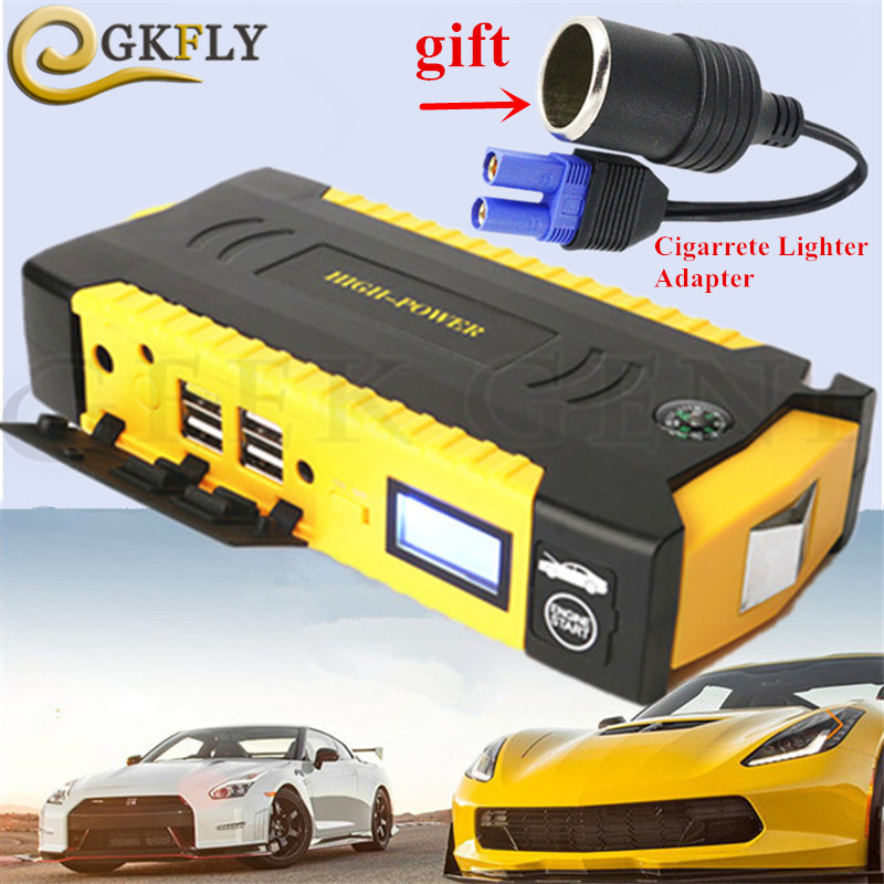 High Power Starting Device 600A Car Jump Starter Power Bank 12V Portable Starter Charger for Car Battery Booster Buster Diesel