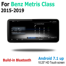 10.25 Android 2G RAM For Mercedes Benz Metris Class 2015~2019 NTG Touch Screen Multimedia Player Stereo Autoradio navigation GPS
