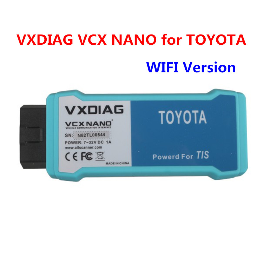 2018 VXDIAG VCX NANO V10.30.029 Wifi Version With Multi Languages Diagnostic Tool