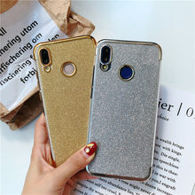 Glitter TPU Phone Cases For Huawei P20 P30 Pro P10 Mate 20 10 Lite Nova 4 3 Honor 9 8 7A 7X 8X 7C Y6 Prime 2018 Silicone Cover(China)