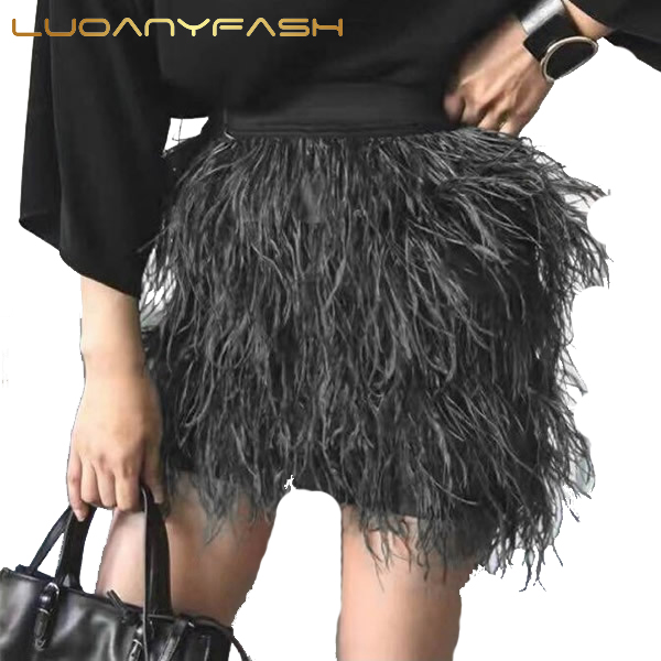 Popular Black Feather Skirt-Buy Cheap Black Feather Skirt lots ...