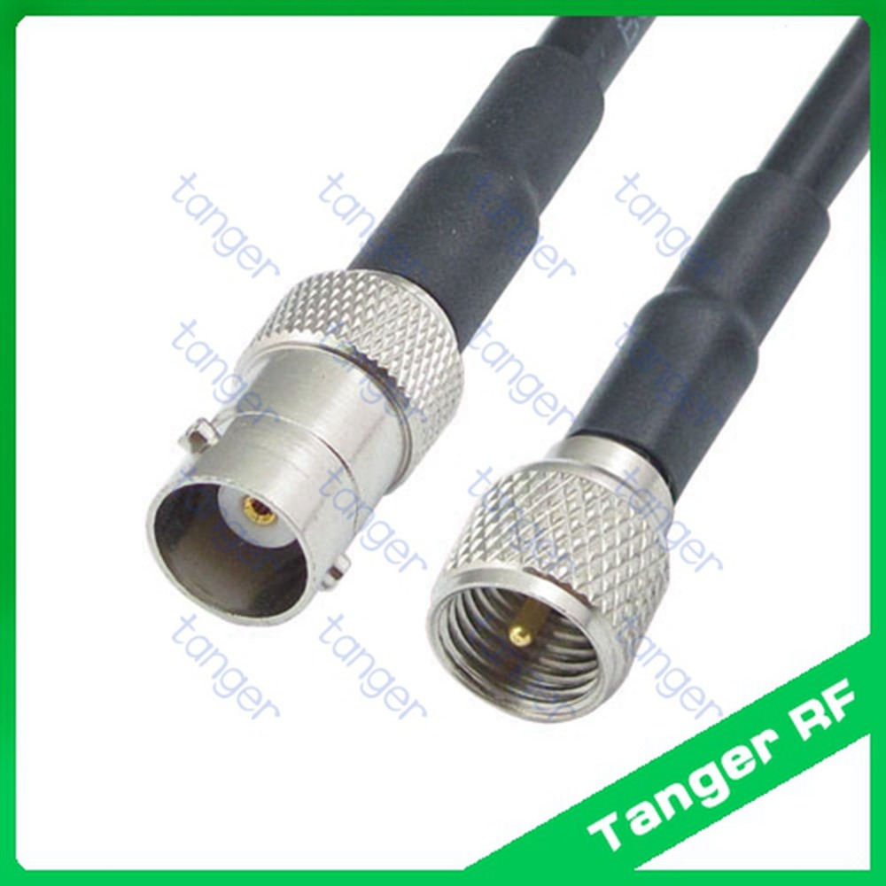 ; UHF PL259 Jack to BNC Male Plug Adapter Jumper Pigtail Cable RG58 2 FT MWRF Source BNC Male to PL259 RG58 Cable