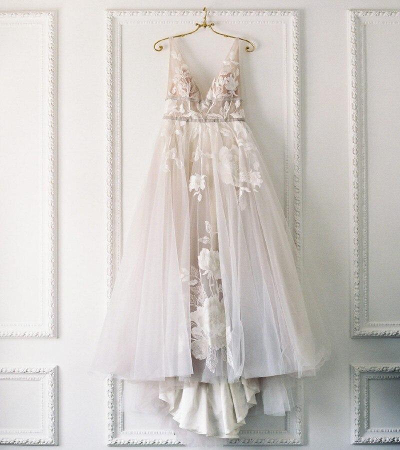 Backless Wedding Dresses 2019: Aliexpress.com : Buy New Arrival Lace Boho Wedding Dress