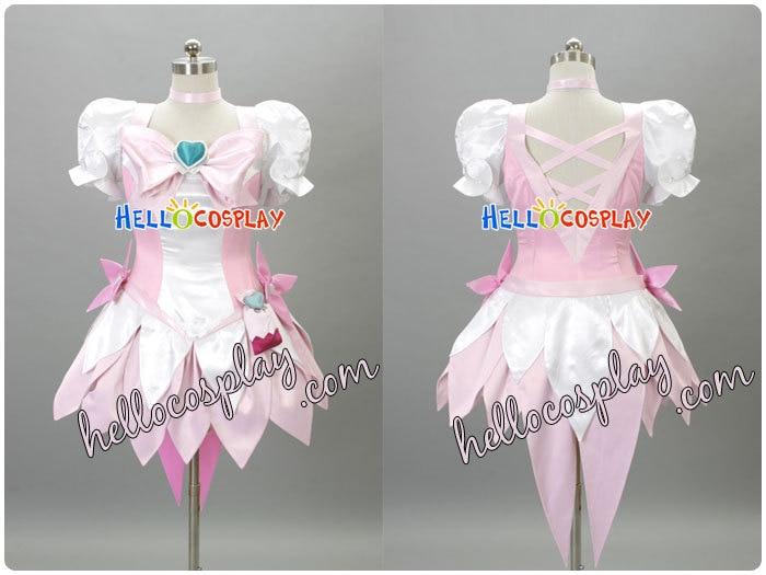 HeartCatch PreCure Cosplay Super Cure Blossom Costume H008