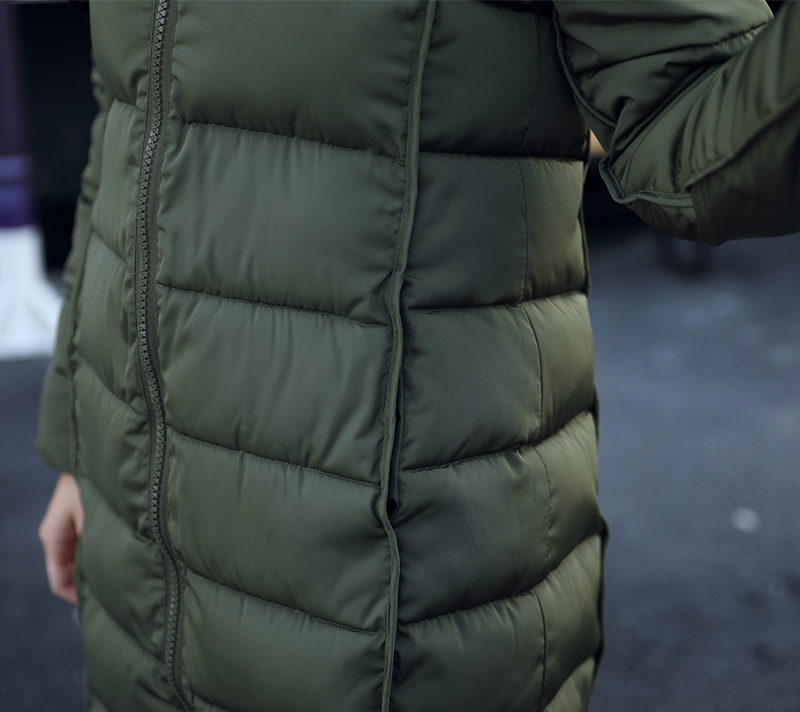 19 winter women hooded coat fur collar thicken warm long jacket female plus size 3XL outerwear parka ladies chaqueta feminino 21