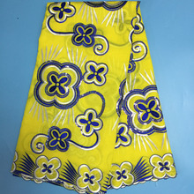 Color Yellow Fabric African
