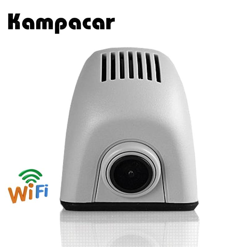 Kampacar Hidden WiFi Recorder Car Dvr Dash Cam Camera For Audi A4 A4L B7 A6 4F