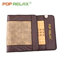 POP RELAX корейский Тепловая терапия мат AB две стороны тепловой германий турмалин, нефрит maifan физиотерапия оздоровительный, с камушками матрас