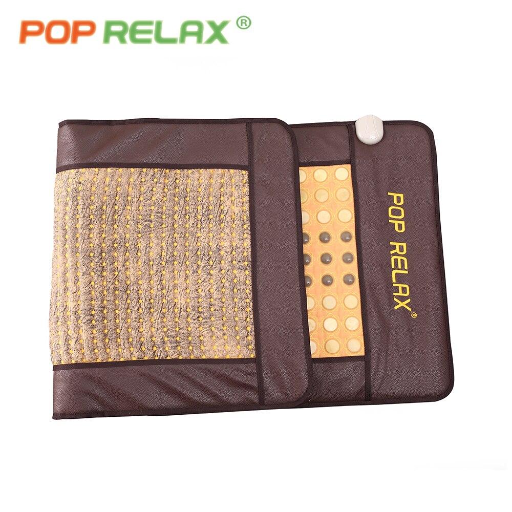 Terapia de aquecimento do POP RELAX Coreano mat AB dois lados térmica maifan turmalina jade germânio pedra colchão colchão de saúde fisioterapia