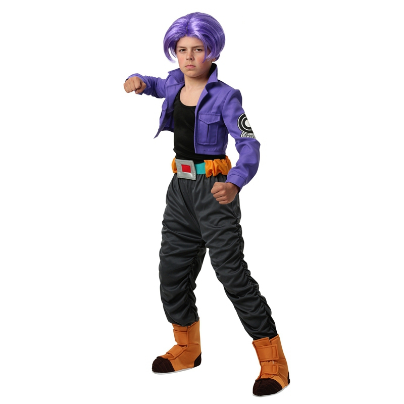 Dargon Ball Z Child Trunks Costumes