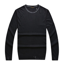 Billionaire italian couture sweater wool men's 2015 o-neck fashion high quality England comfortably straight free shipping