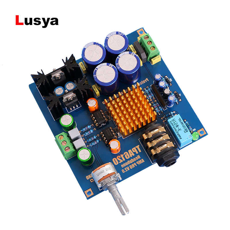 TPA6120 HiFi Headphone Amplifier Board Amplificador TPA6120A2 Headphone Amplifier DIY KITS and Assembled
