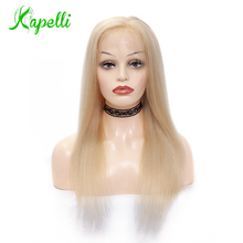 hot deal buy full lace wig 150% density blonde 613 silky straight preplucked hairline full lace human hair wigs100% brazilian human remy hair