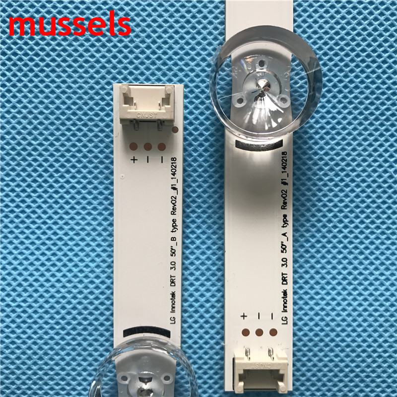 """Image 2 - LED Backlight strip For LG 50"""" TV Innotek DRT 3.0 A/B 140107 6916L 1735A 6916L 1736A 6916L 1978A 6916L 1982A 50lb5610 50LB653V-in Industrial Computer & Accessories from Computer & Office"""