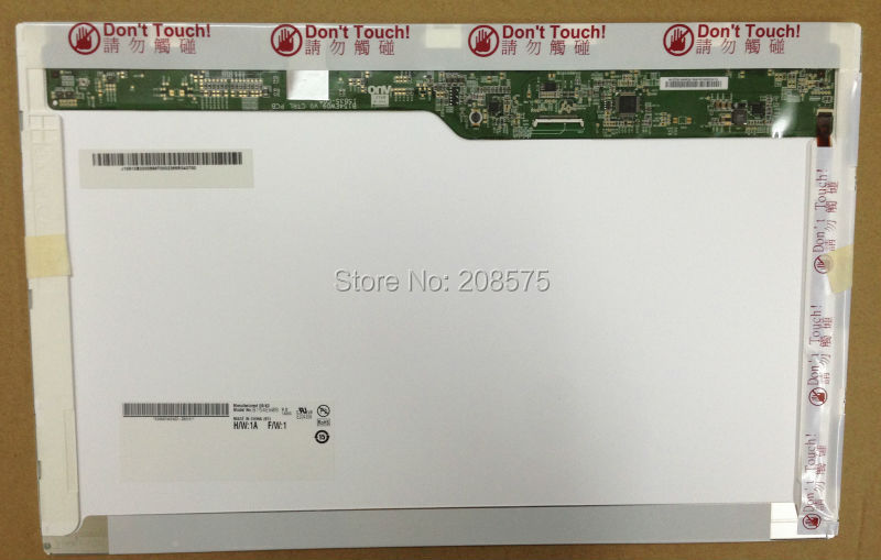 Free Shipping Brand New Grade A+LCD laptop screen 15.4 inch B154EW09 V.0 N154I6-L05 LTN154AT11 for Lenovo SL500 T500 G530