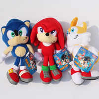 9'' 23cm Sonic Plush Toy Soft Stuffed Toy Dolls With Tag