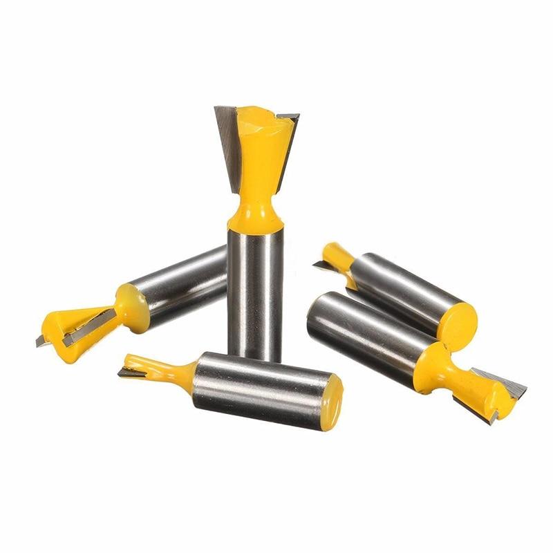 5pcs/set 8 &14 Degree Router Bits Set 1/2 Shank Dovetail Joint Woodworking Cutter 1/4 1/2 3/8 5/8 3/4 бензопила oleomac gs 35c 14 3 8 1 3 50249101e1t канистра windsor 6 2 5л 43w1000
