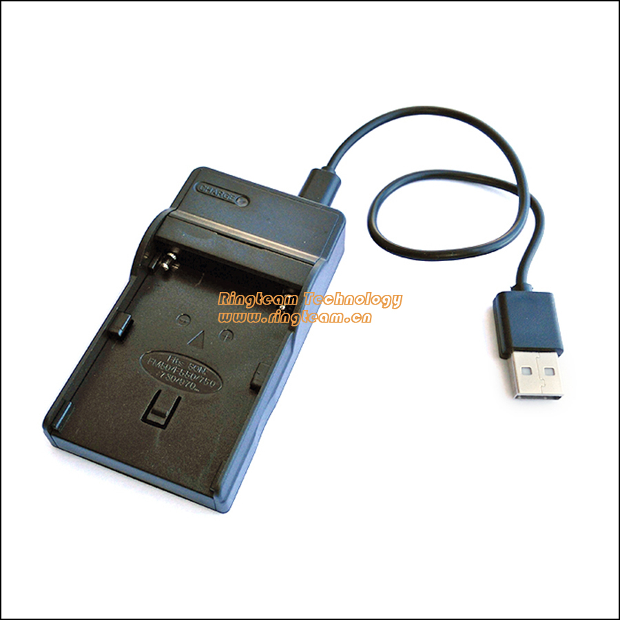 NP-FM50 Battery USB Charger BC-TRM for Sony Cyber-shot Mavica MVC-CD Hi8 CCD-TRV DVD Handycam & MiniDV DCR-HC DCR-PC DCR-TRV