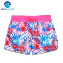 Gailang Brand Women beach Board shorts casual Woman Boxer Trunks Swimwear Swimsuits Lady boardshorts Active Sweatpants Shorts