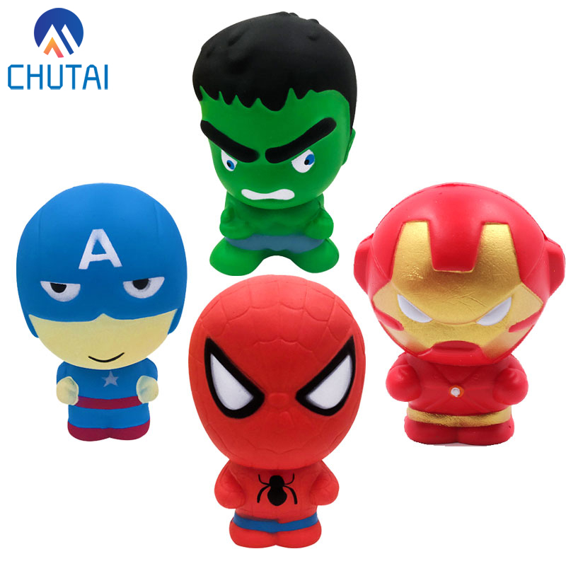 Squishy Toy Cartoon Squishy Cake Stress Reliever PU Toys Scented Squeeze Slow Rising Fun Toy Anti Stress Cure Gift Squeeze Toy