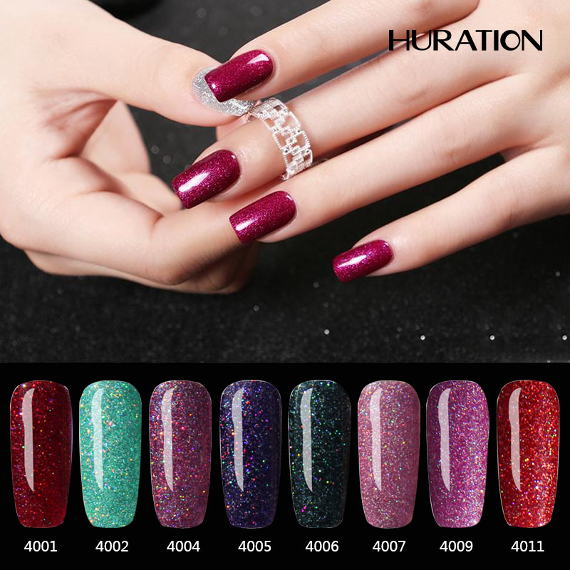 Huration Brand Neon Colors 7ml Gel Paint Neon Gel Nail Polishes Off Soak 19 Colour Rainbow Nail Gel Polish Tops Gel Varnish