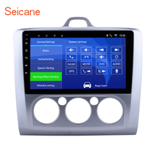 Seicane Android 6.0/7.1 10.1″ Car Radio For Ford Focus 2 Exi MT 2004 2005 2006 2007 2008 2009- 2011 2Din GPS Multimedia Player