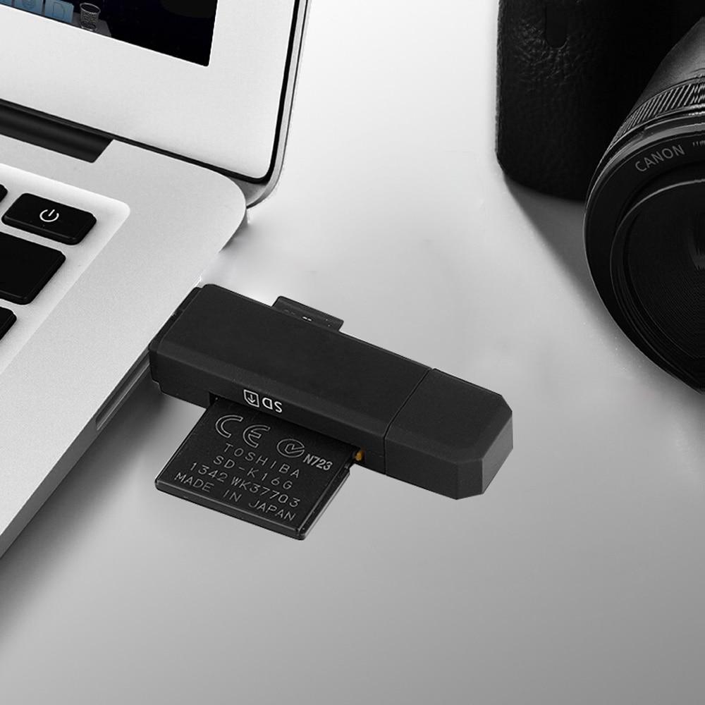 Image 5 - Ingelon Универсальный кардридер USB C OTG TF SD кард ридер microsd MMC Android Компьютерный удлинитель адаптер для камеры считыватель SD карт-in Считыватели карт памяти from Компьютер и офис