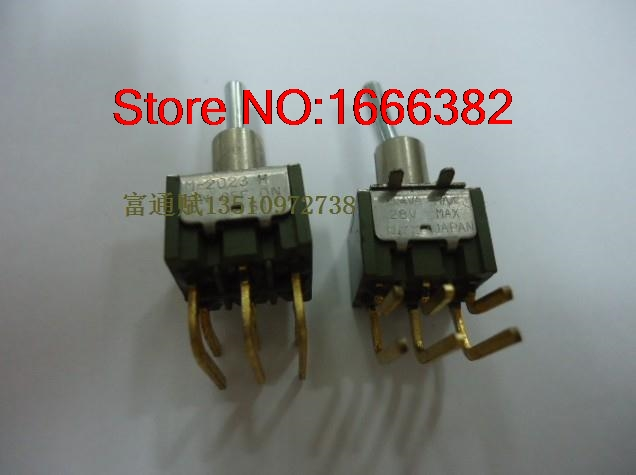 Imported Twist Switch M-2023h Gold-plated Bent Three-legged Six-legged Shaking His Head On-off-on Electrical Sockets & Plugs Adaptors Electrical Plug