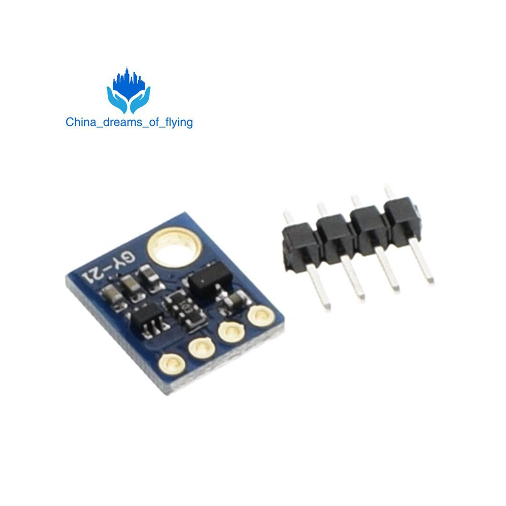 GY-21 Si7021 SHT21 I2C Hohe Präzision Feuchtigkeit Temperatur Sensor Arduino