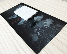 Large Size 700*300*2mm World map Quick custom 3D printing rubber speed game mouse pad lasting computers and laptops Mat Gaming