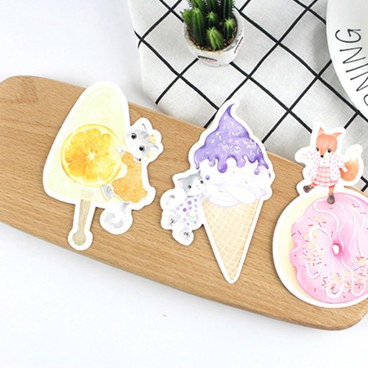 30pcs summer icecream you both look delicious card multi-use as Scrapbooking party invitation DIY Decoration postcard