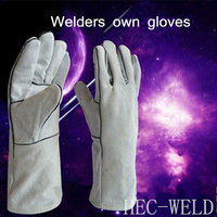 Cow Welding Welder Welding Gloves Wear High Temperature Welding Gloves Labor Insurance