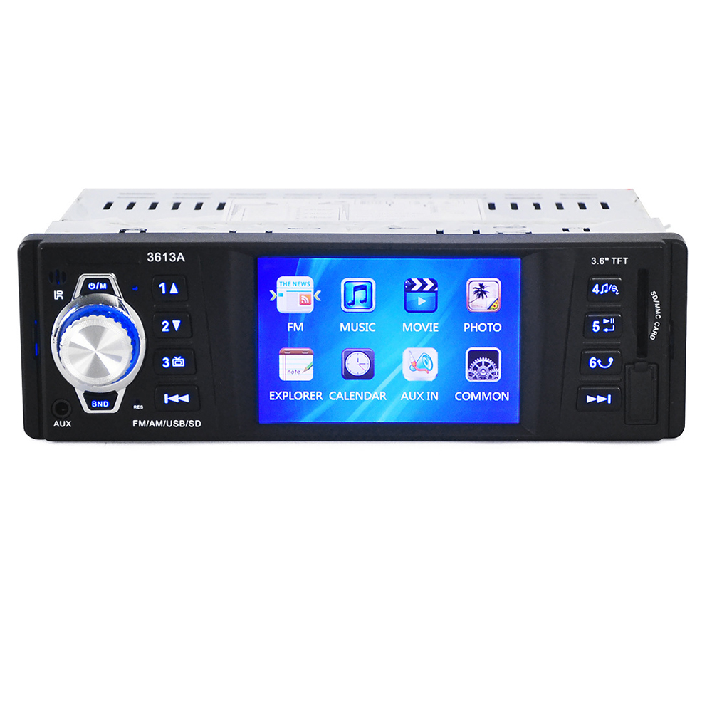 Car Audio Stereo MP4/MP5 Player AUX-IN music FM/USB/SD 1 Din/remote control Car Radio Audio Auto auto car usb sd aux adapter audio interface mp3 converter for fiat idea 2004 2010 fits select oem radios