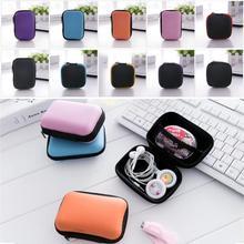 Convenient Storage Bag mini Gadgets Organizer Portable Case For Earphone U Disk USB Square Earphone Storage Bags 12*8.5cm cute 3