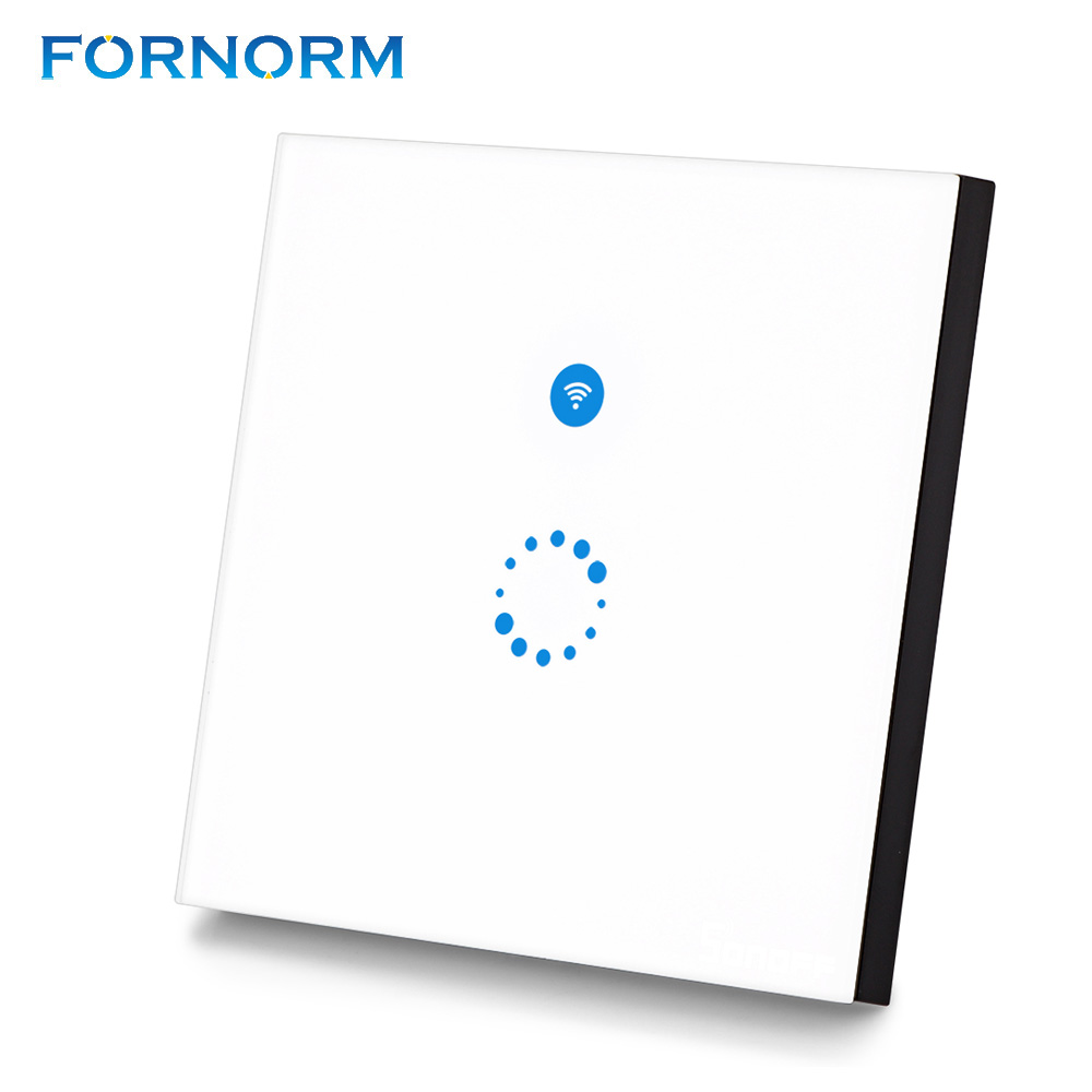 Fornorm Sonoff Touch Wi Fi Switch 1 Gang 1 Way Wireless