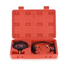 Vehicle Mini Dial Air Vacuum Pressure Gauge Meter Manometer Auto Motor Car Bike Tire Air Pressure Tester Car Diagnostic Tools