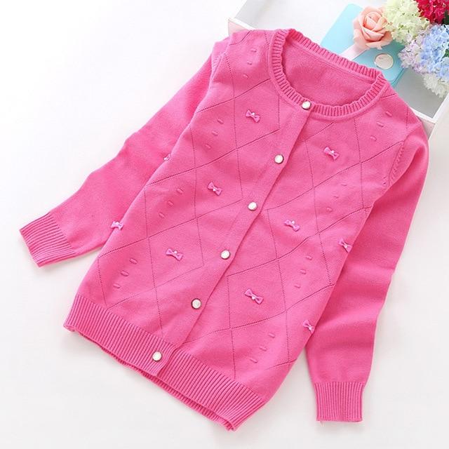 7e4177795 2016 new girls  cardigans girls clothing 6 14 years girls sweaters ...