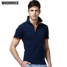 2018 moda ropa nuevos hombres Polo hombres de negocios y Casual sólido Polo camisa  manga corta transpirable verano Chemise polo 11bd9a2a704f5