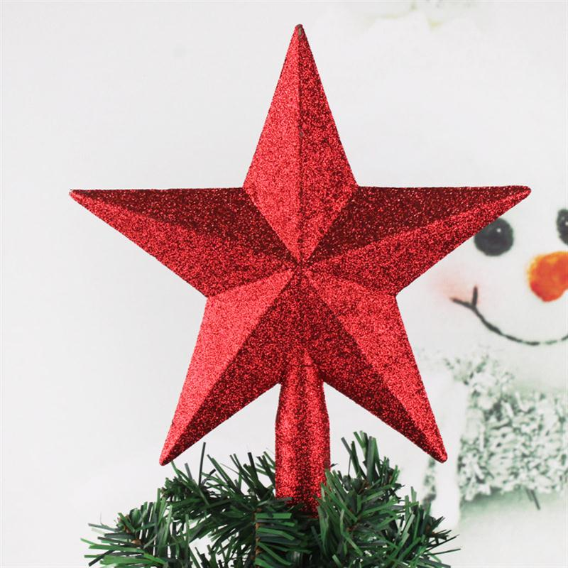 Christmas Tree Top Star Plastic Christmas Star Tree Topper For Table  Christmas Decoration Craft Xmas DIY Accessories - Christmas Tree Top Star Plastic Christmas Star Tree Topper For Table