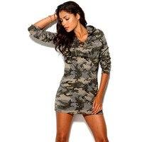 2015 nuove donne di modo dress camouflage stampa dress semplice e sexy mini dress xs s m l xl xxl y0306-109c