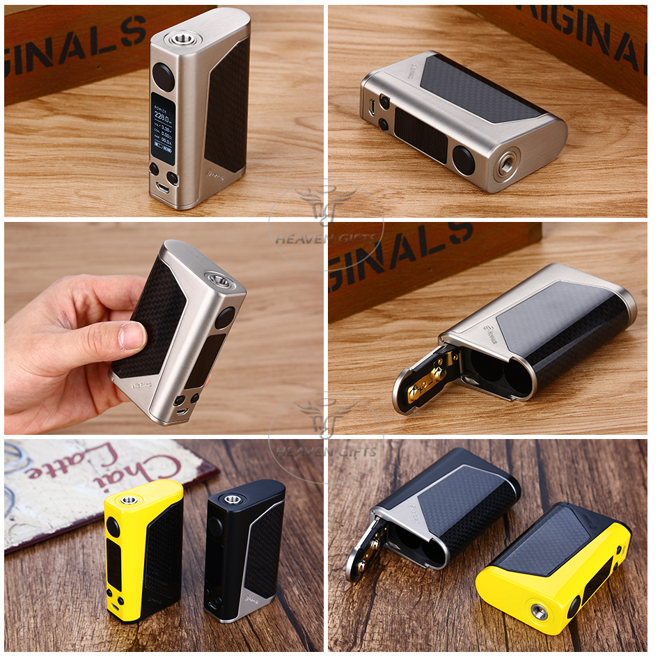 100% Original Joyetech eVic Primo 2.0 228W Max Output TC Box MOD with 2A Quick Charge System Applicable for Various Tanks E-cigs 12
