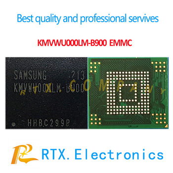 5pcs/lot Original & NEW BGA KMVWU000LM-B900 EMMC For XIAOMI/Samsung UFS EMCP Nand Flash Memory IC KMVWU000LM-B900 32GB Flash IC