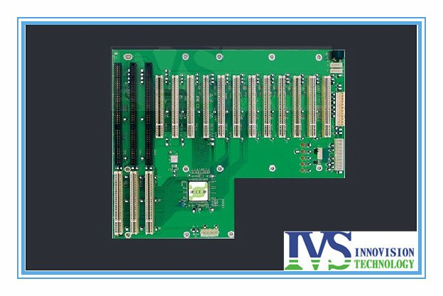 15 slot PICMG PCI/ISA backplane / industrial backplane / passive backplane /