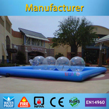 Commercial Grade 6*6m Inflatable Swimming Pool for Adult and Kids(Free air pump+free shipping) discount 500x500mm 20x20 silicone rubber sheet high temp commercial grade free shipping to many countries