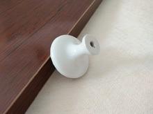 2.5″ pull handles Shabby Chic Dresser / Drawer Knob White Silver Rustic Kitchen Cabinet Handle Door Handle furniture hardware